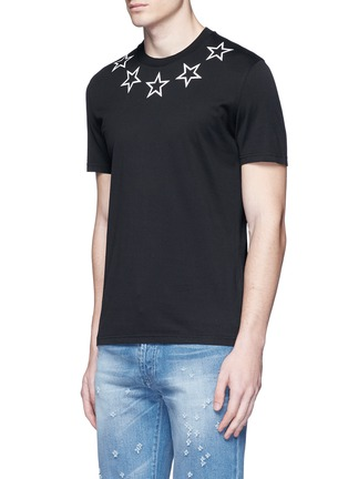 Front View - Click To Enlarge - Givenchy - Star print cotton T-shirt