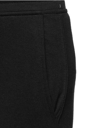 Detail View - Click To Enlarge - ALEXANDERWANG.T - Enzyme wash sweatpants