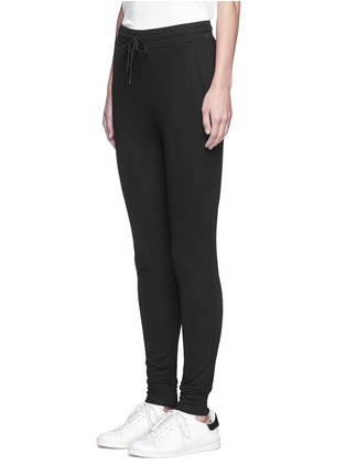 Front View - Click To Enlarge - ALEXANDERWANG.T - Enzyme wash sweatpants