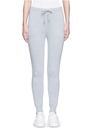 Main View - Click To Enlarge - T By Alexander Wang - Enzyme wash sweatpants