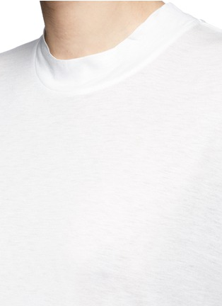 Detail View - Click To Enlarge - T By Alexander Wang - Dropped shoulder jersey T-shirt
