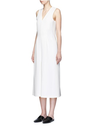 Figure View - Click To Enlarge - ALEXANDERWANG.T - V-neck culottes jumpsuit
