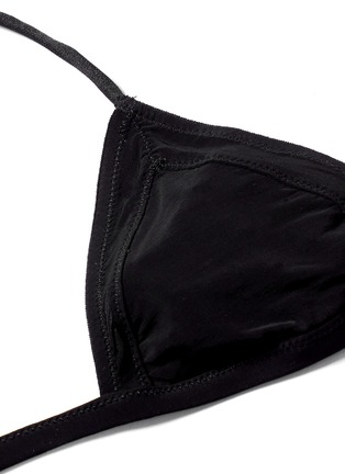 Detail View - Click To Enlarge - Kiki De Montparnasse - 'Voyeur' seamed soft bra