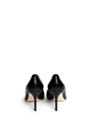 Back View - Click To Enlarge - Giuseppe Zanotti Design - 'Yvette' stud toe cap leather pumps