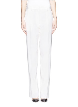 Main View - Click To Enlarge - Victoria Beckham - Virgin wool barathea pants