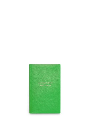 Main View - Click To Enlarge - SMYTHSON - 'Inspirations And Ideas' pocket notebook