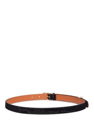 Back View - Click To Enlarge - Maison Boinet - Ponyhair belt