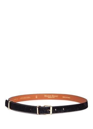 Main View - Click To Enlarge - Maison Boinet - Ponyhair belt