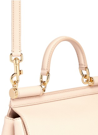 Detail View - Click To Enlarge - Dolce & Gabbana - 'Miss Sicily' medium leather satchel