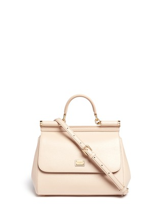 Main View - Click To Enlarge - - - 'Miss Sicily' medium leather satchel