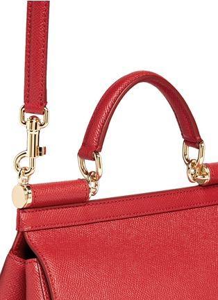 Detail View - Click To Enlarge - - - 'Miss Sicily' medium leather satchel