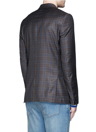 Back View - Click To Enlarge - Paul Smith - 'Soho' check plaid wool blazer