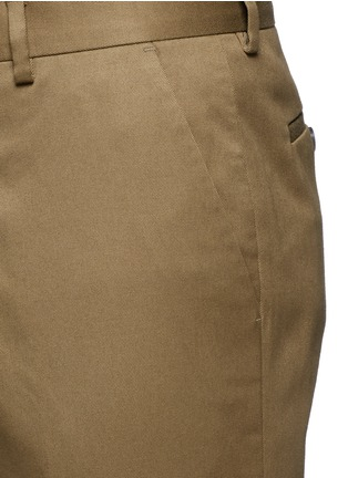 Detail View - Click To Enlarge - PAUL SMITH - Stretch cotton chinos