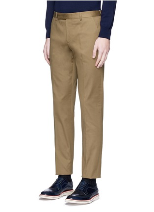Front View - Click To Enlarge - PAUL SMITH - Stretch cotton chinos