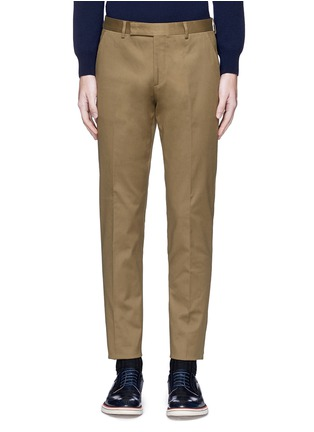 Main View - Click To Enlarge - PAUL SMITH - Stretch cotton chinos