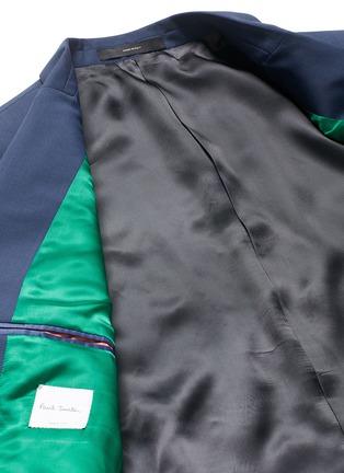 - Paul Smith - 'Soho' wool-Mohair hopsack blazer