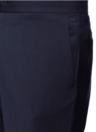 Detail View - Click To Enlarge - Paul Smith - Relaxed fit wool jogging pants
