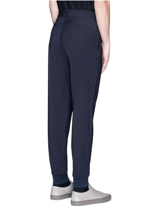 Back View - Click To Enlarge - Paul Smith - Relaxed fit wool jogging pants