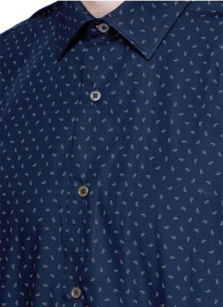 Detail View - Click To Enlarge - Paul Smith - Paisley print cotton shirt