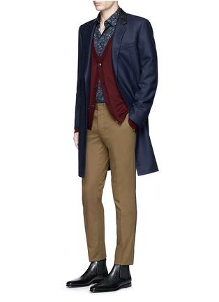 Figure View - Click To Enlarge - Paul Smith - 'Vine Floral' print cotton shirt