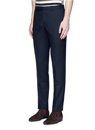Front View - Click To Enlarge - Paul Smith - Wool travel pants