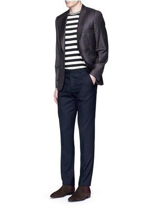 Figure View - Click To Enlarge - Paul Smith - Wool travel pants