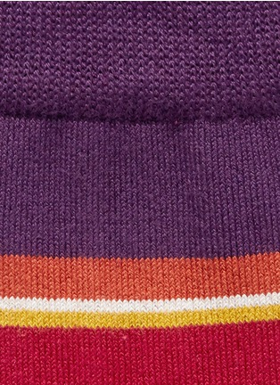 Detail View - Click To Enlarge - Paul Smith - 'Val Stripe' socks