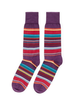 Main View - Click To Enlarge - Paul Smith - 'Val Stripe' socks