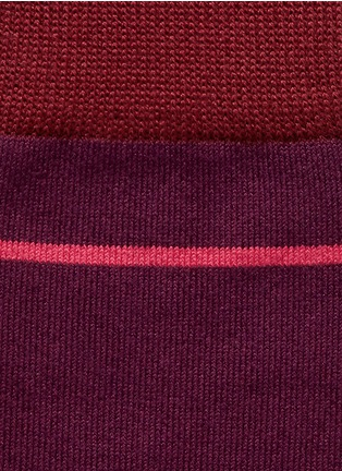 Detail View - Click To Enlarge - Paul Smith - 'City Stripe' socks