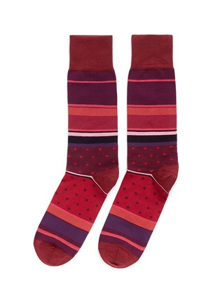 Main View - Click To Enlarge - Paul Smith - 'City Stripe' socks