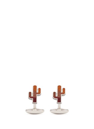 Main View - Click To Enlarge - Paul Smith - Cactus cufflinks