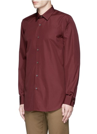 Front View - Click To Enlarge - Paul Smith - Contrast cuff lining cotton shirt