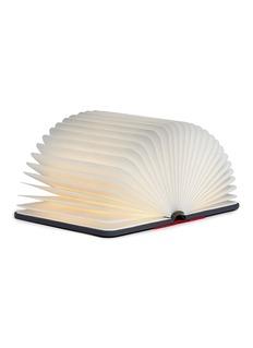 Lumio Mini Lumio+ folding book lamp –Gray/Red