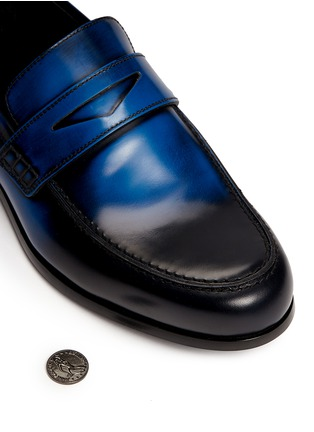 Detail View - Click To Enlarge - Jimmy Choo - 'Darblay' leather penny loafers