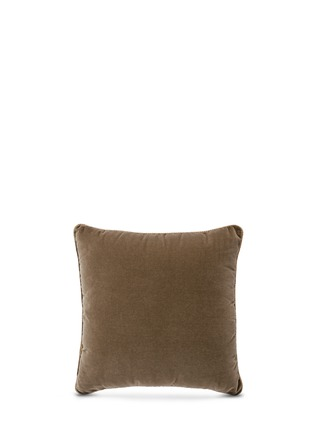 Figure View - Click To Enlarge - Etro - Leicester Anstey paisley print velvet cushion