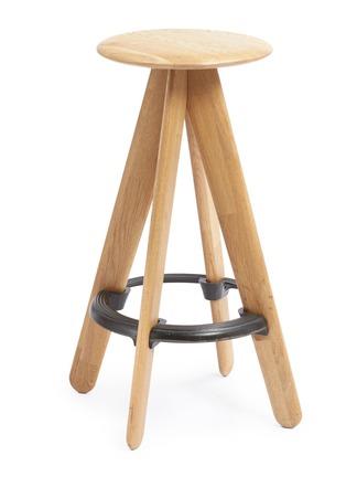 Main View - Click To Enlarge - Tom Dixon - Slab bar stool