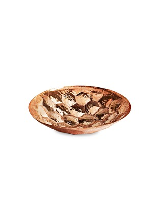 Main View - Click To Enlarge - Tom Dixon - Hex large copper bowl