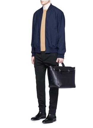 Figure View - Click To Enlarge - 3.1 Phillip Lim - 'Honor' top handle leather bag