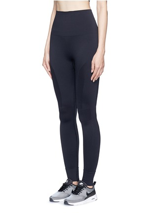 Front View - Click To Enlarge - LNDR - 'Eleven' circular knit performance leggings
