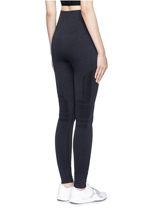 Back View - Click To Enlarge - LNDR - 'Eleven' circular knit leggings