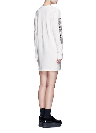 Back View - Click To Enlarge - Opening Ceremony - 'Bill' logo print T-shirt dress