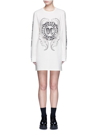 Main View - Click To Enlarge - Opening Ceremony - 'Bill' logo print T-shirt dress
