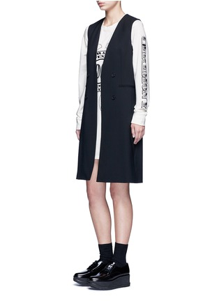Figure View - Click To Enlarge - Opening Ceremony - 'Bill' logo print T-shirt dress