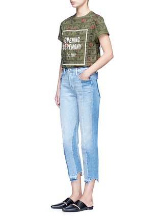 Figure View - Click To Enlarge - Opening Ceremony - 'Money' print logo cotton T-shirt