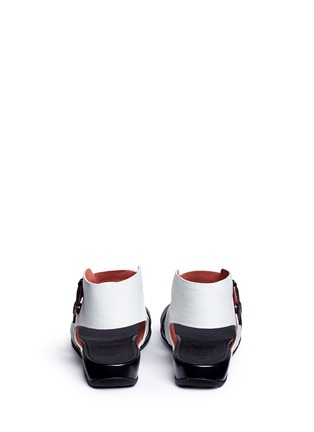 Back View - Click To Enlarge - Fitflop - 'Gladdie' colourblock leather sandals