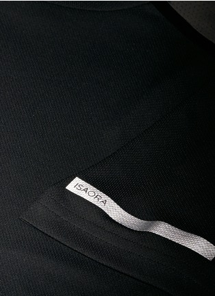 Detail View - Click To Enlarge - Isaora - 'Torque Performance' mesh jersey T-shirt