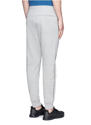 Back View - Click To Enlarge - ISAORA - Bonded jersey sweatpants
