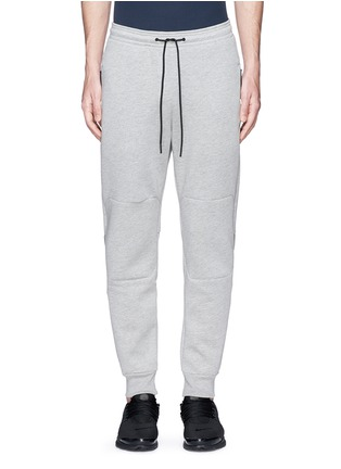 Main View - Click To Enlarge - ISAORA - Bonded jersey sweatpants