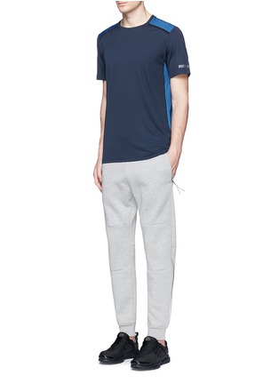 Figure View - Click To Enlarge - ISAORA - Bonded jersey sweatpants