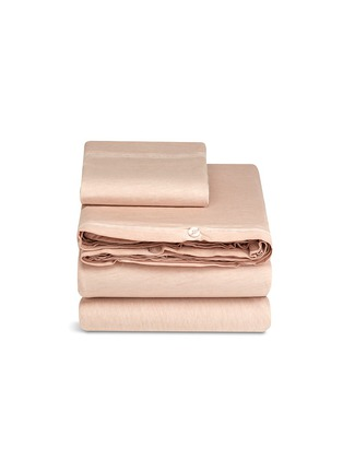Main View - Click To Enlarge - mikmax - Nude twin size duvet set